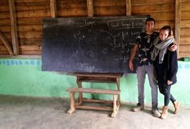 Volontär eller praktikant i Madagaskar : Språkkurs och språkresor