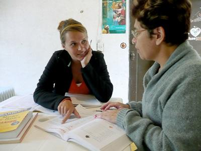 A Projects Abroad volunteer studies Spanish in Mexico, North America
