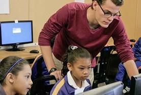 Volontär i Sydafrika : Undervisning