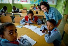 Volontär i Etiopien : Undervisning