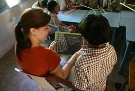 Undervisning - volontärarbete eller lärarpraktik utomlands : Bangladesh