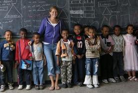 Undervisning - volontärarbete eller lärarpraktik utomlands : Etiopien
