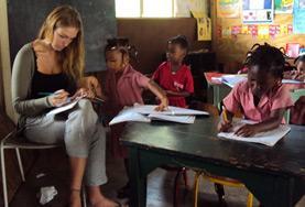 Undervisning - volontärarbete eller lärarpraktik utomlands : Jamaica