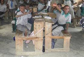 Volontär i Kenya med Projects Abroad : Undervisning