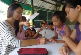 Volontär i Filippinerna : Undervisning