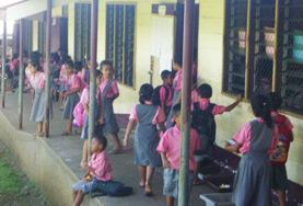 Undervisning - volontärarbete eller lärarpraktik utomlands : Samoa