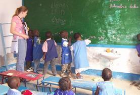 Volontär i Senegal : Undervisning