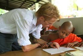 Volontär på Sri Lanka : Undervisning