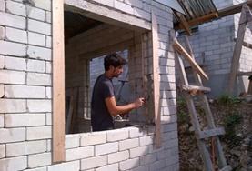Volontär i Filippinerna : Bygg