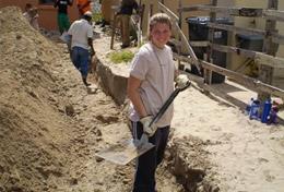 Ungdomsvolontär byggprojekt utomlands : Sydafrika