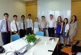 Ungdomsvolontär inom Juridik & Näringsliv : Kina