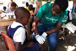 Ungdomsvolontär – Medicin & Hälsa : Ghana