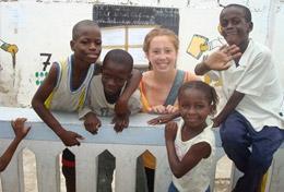 Ungdomsvolontär med barn & ungdom : Senegal
