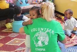 Ungdomsvolontär med barn & ungdom : Etiopien