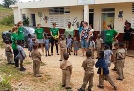 Ungdomsvolontär med barn & ungdom : Jamaica