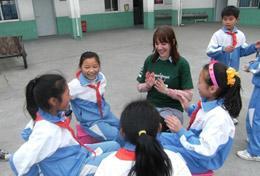 Ungdomsvolontär med barn & ungdom : Kina