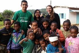 Ungdomsvolontär med barn & ungdom : Madagaskar