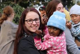 Ungdomsvolontär med barn & ungdom : Nepal