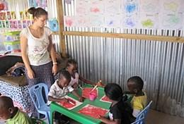 Volontär i Sydafrika : Omsorg