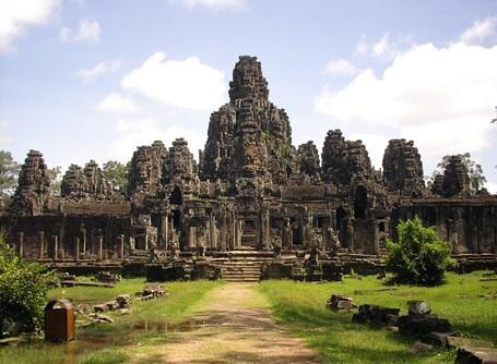 Angkor Vat - Volontär Kambodja