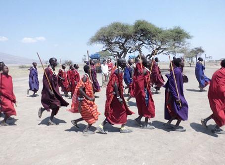 Volontär i Tanzania - Masajkrigare